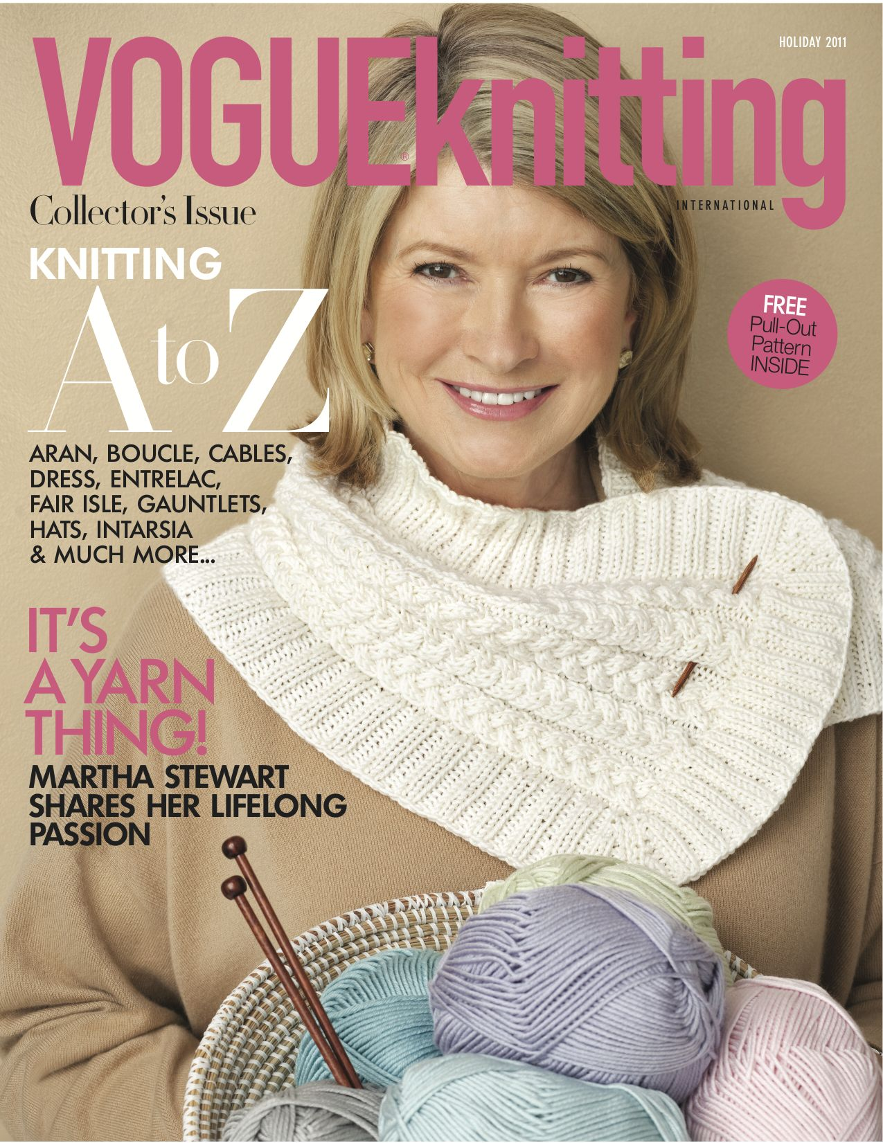 Vogue Knitting Cowl Pattern : Vogue Knitting! Be Sweet Blog Waggle Dancing