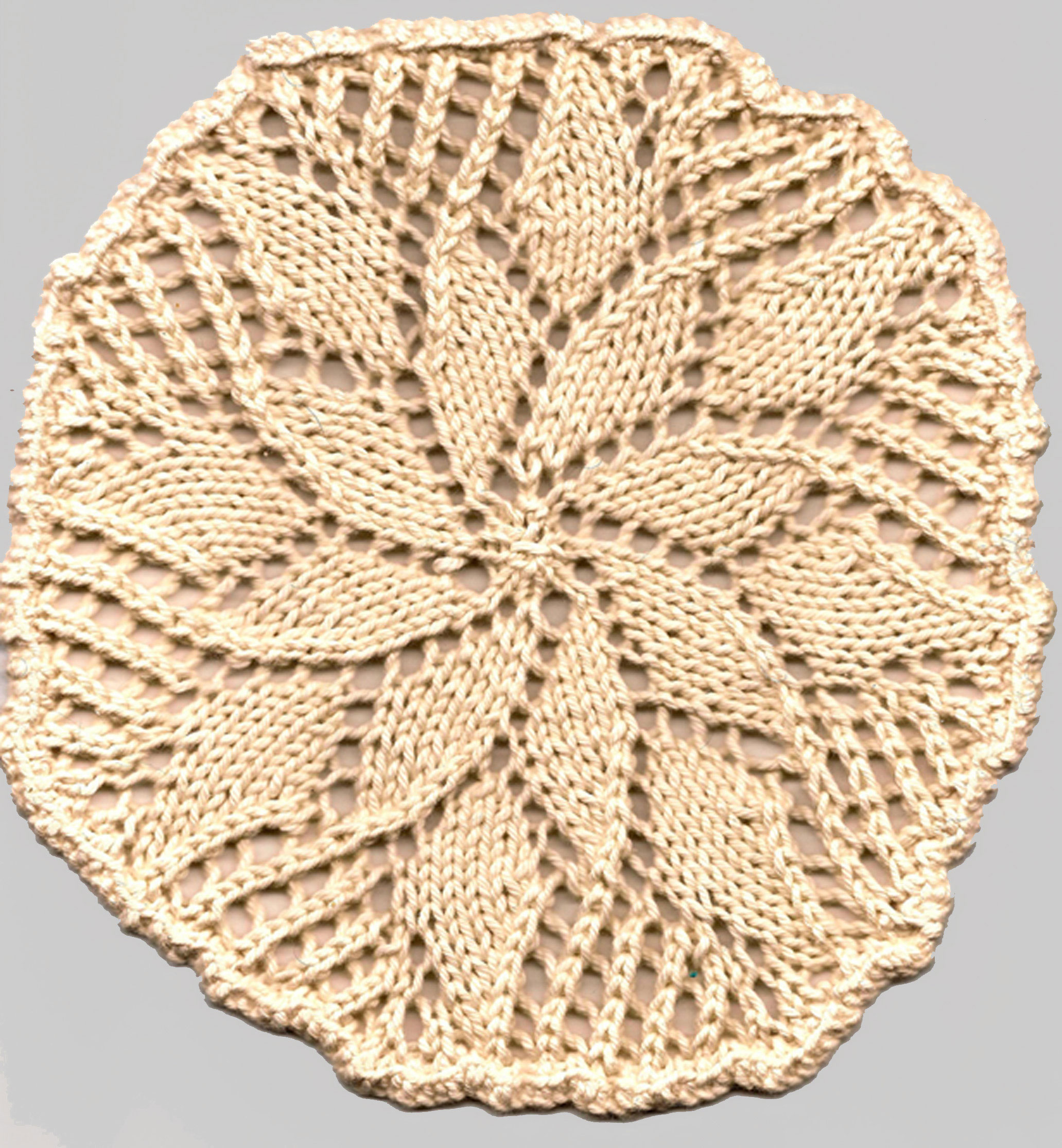 How to knit a circle 62